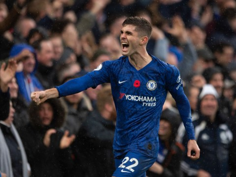 Chelsea manager Frank Lampard provides Christian Pulisic injury update