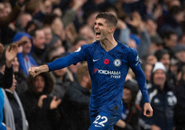 Christian Pulisic is in contention to feature for Chelsea against Manchester City on Saturday