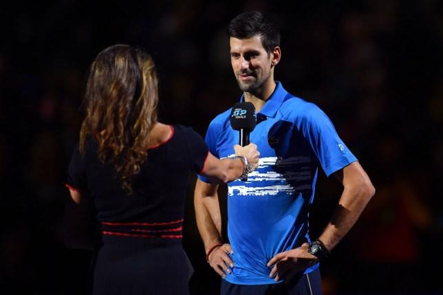 Novak Djokovic made a sensational start to his ATP Finals campaign