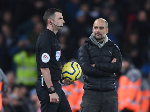 Pep Guardiola and Man City coaching staff furious at VAR explanation for Liverpool penalty incident