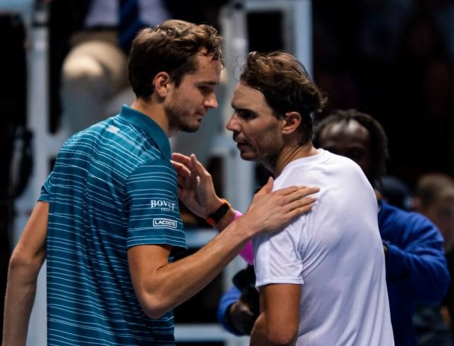 Rafael Nadal produced a stunning comeback against Daniil Medvedev
