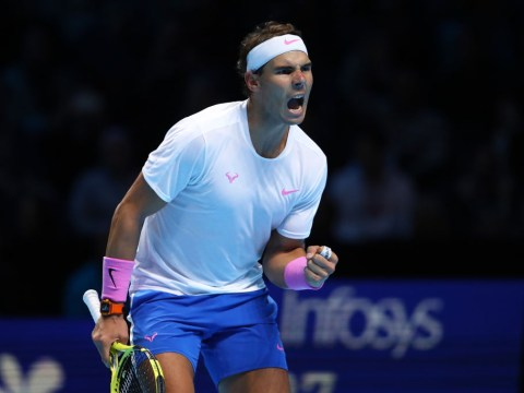 Rafael Nadal fights back against Stefanos Tsitsipas to keep hopes of Roger Federer clash alive
