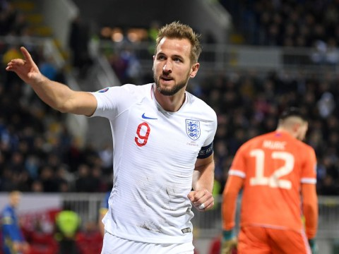Harry Kane sets record as England thrash Kosovo in final Euro 2020 qualifier