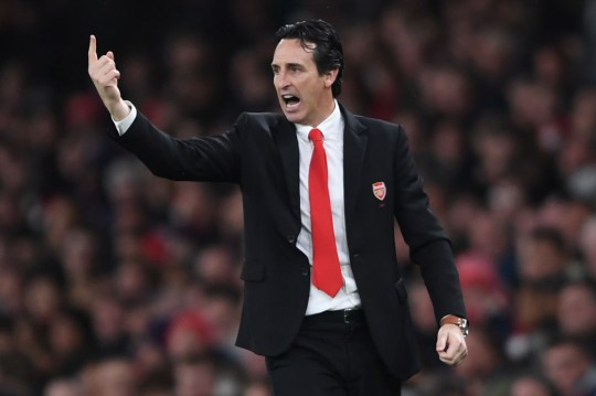 Unai Emery is under huge pressure at Arsenal after just one win in eight games