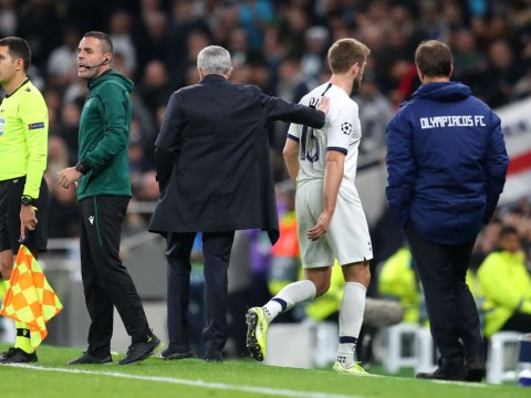 Jose Mourinho apologises to Tottenham star Eric Dier after savage sub during Olympiacos win