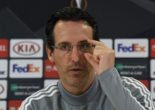 Arsenal can qualify for the knockout stages of the Europa League if they avoid defeat against Eintracht Frankfurt