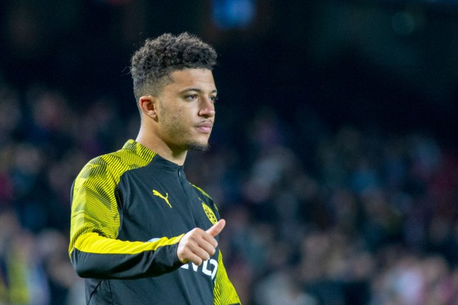 Jadon Sancho is expected to leave Dortmund this summer