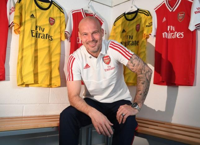 Freddie Ljungberg was named Arsenal caretaker boss after Unai Emery's sacking
