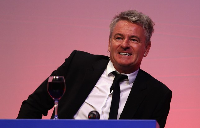Arsenal hero Charlie Nicholas speaks at an event