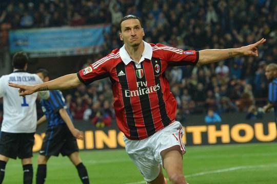 Zlatan Ibrahimovic spent two seasons at AC Milan