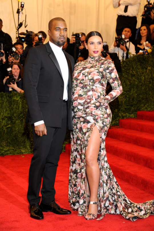 Image result for Kim Kardashian over her 2013 Met Gala outfit: