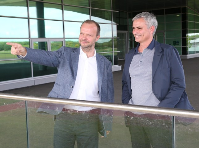 Ed Woodward and Jose Mourinho disagreed over Manchester United's transfer policy