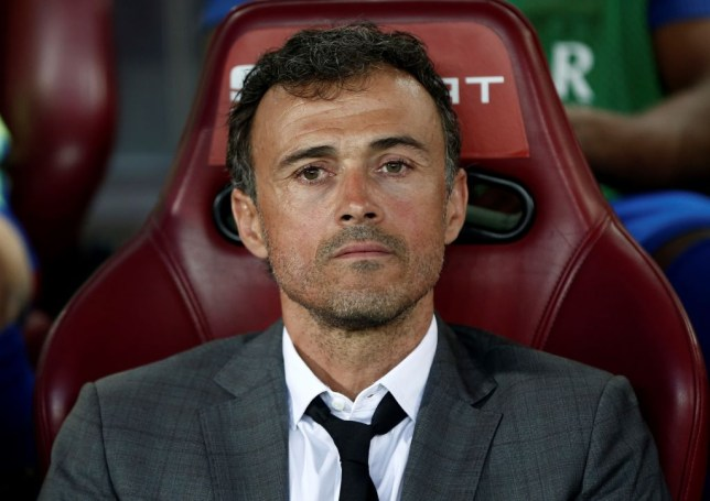 Former Barcelona manager Luis Enrique is in the running to become Arsenal's next manager