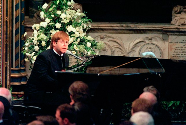Elton John needed a teleprompter for iconic performance at Princess Diana's funeral