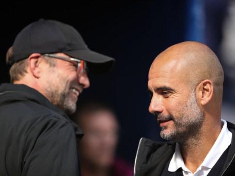 Pep Guardiola starts mind games with Jurgen Klopp ahead of Liverpool vs Man City