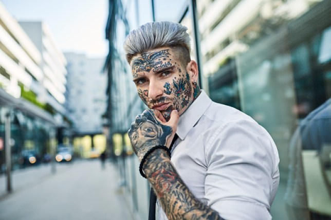 Currently, people can get face tattoos from the age of 18