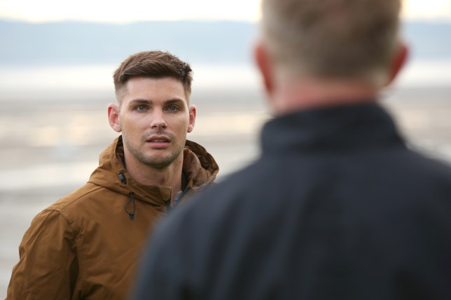 Ste Hay and Stuart Sumner in Hollyoaks