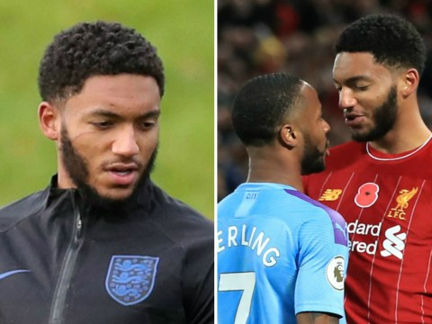 Joe Gomez scratch caused by Raheem Sterling's jewellery as food went flying during bust-up