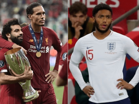 Virgil van Dijk and Mohamed Salah issue support to Joe Gomez amid Raheem Sterling bust-up