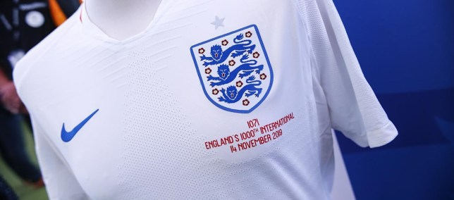 What are the numbers on England's shirts against Montenegro? Legacy numbers explained