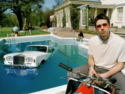 How Oasis blew £100k on sinking Rolls Royce for iconic Be Here Now album cover