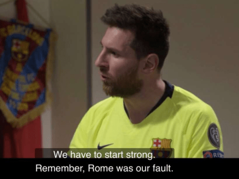 Lionel Messi's speech to Barcelona team-mates revealed before Liverpool collapse