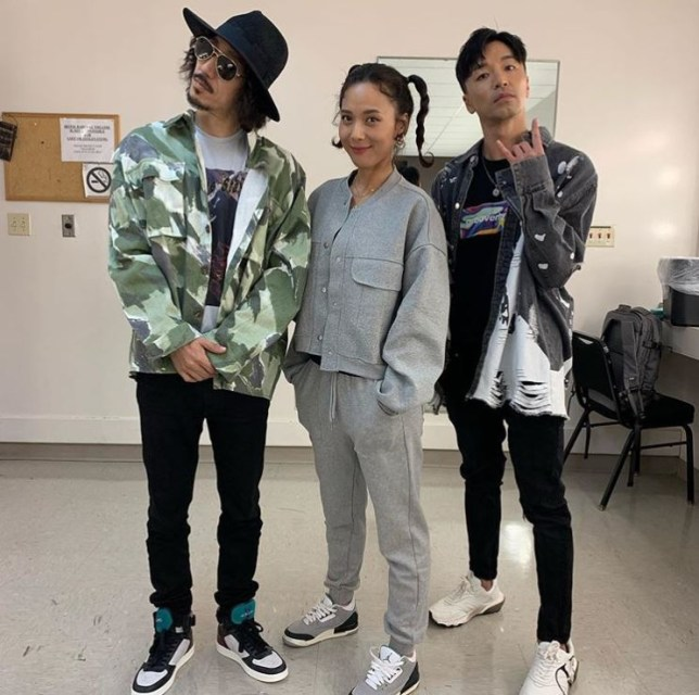 Tiger JK, Yoon Mi-rae and Bizzy of MFBTY