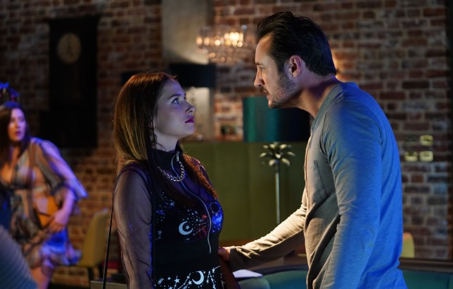 Martin Fowler and Dotty Cotton in EastEnders