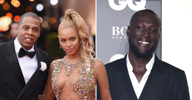 Jay-Z, Beyonce and Stormzy