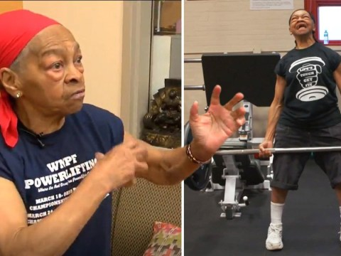 Bodybuilding gran, 82, stops intruder by smashing table over him