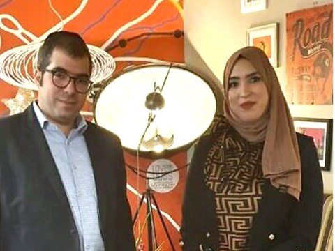 Jewish dad reunited with Muslim woman who stood up for him during Tube abuse