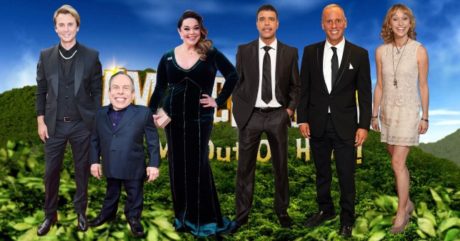 Comp of celebrities who turned down I'm A Celebrity