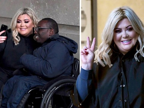 Gemma Collins proves she's still a woman of the people as she stops for selfies with fans