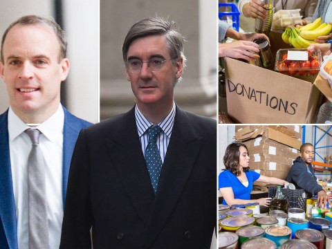 Five things Tory MPs have blamed on food bank usage except government cuts