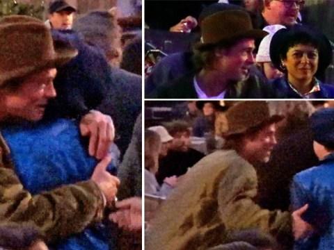 Brad Pitt affectionately hugs Alia Shawkat amid dating rumours at Kanye West's opera night