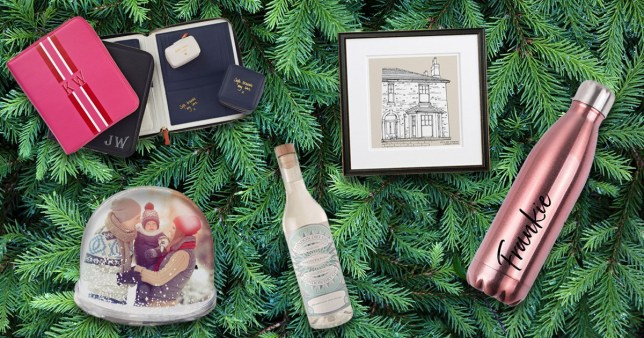 The best personalised gifts for Christmas 2019