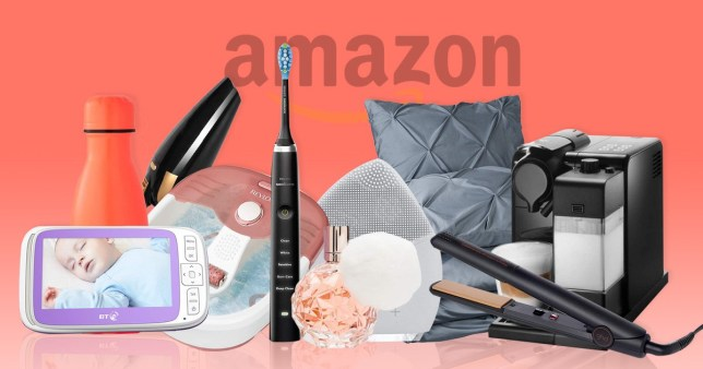 Pictures of home, fashion and beauty items from Amazon's Black Friday deals