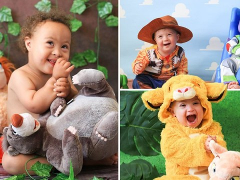 Children with Down's syndrome dress up as Disney characters in adorable photo series
