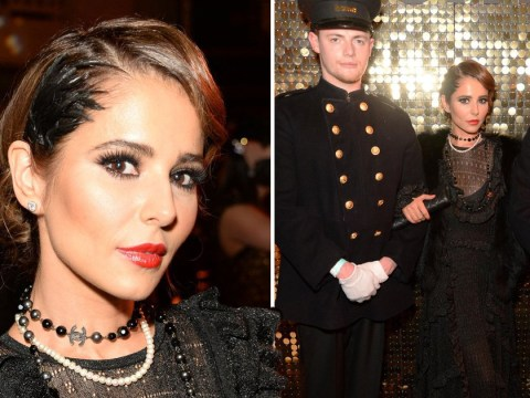 Cheryl stuns as she channels 1920s glamour in a look worlds away from what we're used to