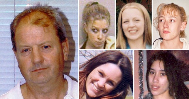 Steve Wright the Suffolk Stranger and his five victims