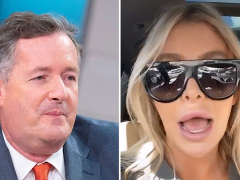 Sophia Hutchins slams Piers Morgan's 'pathetic' probing about sex life with Caitlyn Jenner