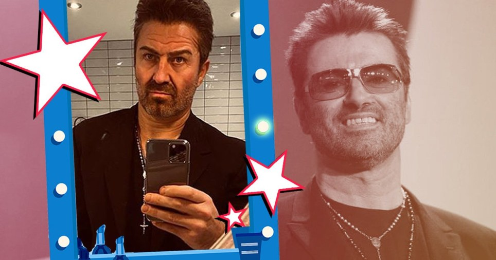 george michael impersonator