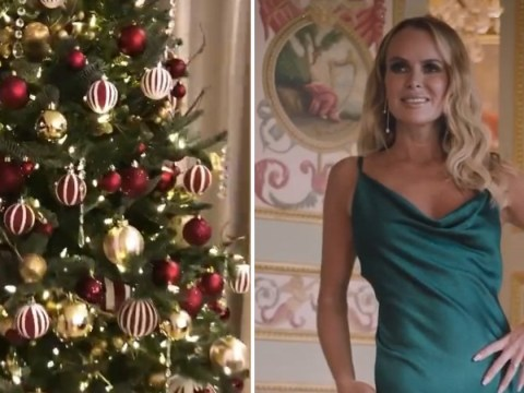 Amanda Holden turns her house into Christmas grotto and admits she gets depressed when it's over