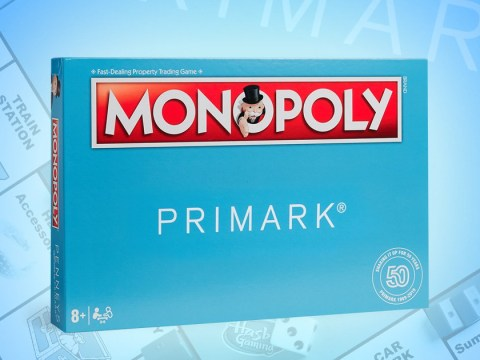 Primark is releasing a special edition of Monopoly themed around shopping