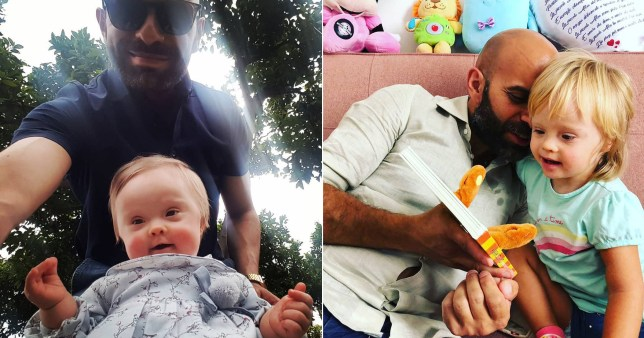 Single father Luca Trapanese, 41 adopted a baby girl with Down\'s syndrome after other families rejected her