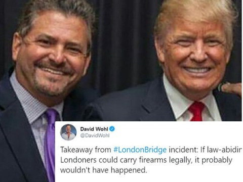 Trump ally says London Bridge attack 'wouldn't have happened' if Brits had guns