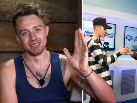 I'm A Celebrity's Roman Kemp shamelessly name drops as he reminisces on Justin Bieber's house party