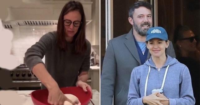 Jennifer Garner spends Thanksgiving with Ben Affleck as internet falls in love with sweet baking video