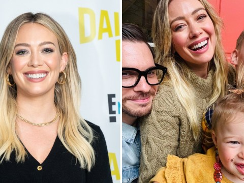 Hilary Duff's daughter Banks gets dirt on her face in adorable Thanksgiving snap