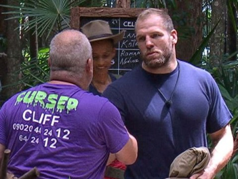 I'm A Celebrity fans annoyed as James Haskell shuts Cliff Parisi down as he volunteers for trial